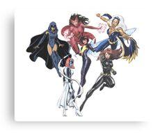 Marvel Female Superheroes Canvas Print