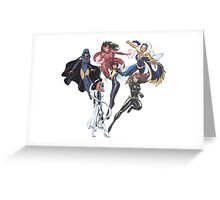 Marvel Female Superheroes Greeting Card