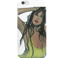 The Girl In the Pool iPhone Case/Skin