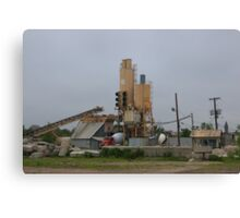 Cement Works Canvas Print