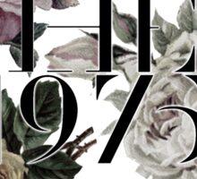 1975 Flower Sticker