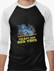 rick and morty escape from new york Men's Baseball ¾ T-Shirt