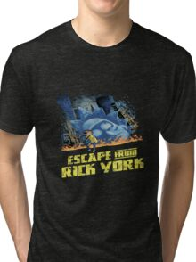 rick and morty escape from new york Tri-blend T-Shirt