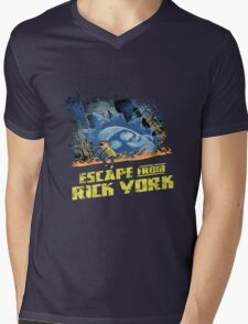 rick and morty escape from new york Mens V-Neck T-Shirt