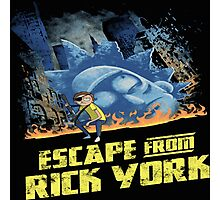 rick and morty escape from new york Photographic Print