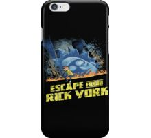 rick and morty escape from new york iPhone Case/Skin