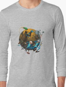 Rick And Morty Fallout Long Sleeve T-Shirt
