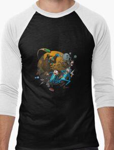 Rick And Morty Fallout Men's Baseball ¾ T-Shirt