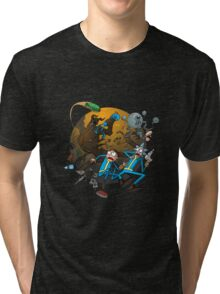Rick And Morty Fallout Tri-blend T-Shirt