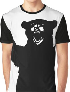 Big Bear Black Graphic T-Shirt