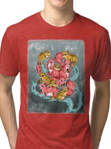 Frosty Fun Tri-blend T-Shirt
