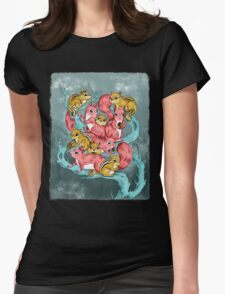 Frosty Fun Womens Fitted T-Shirt