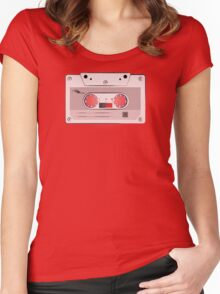 casette Women's Fitted Scoop T-Shirt