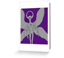 Night Vale Angel Greeting Card
