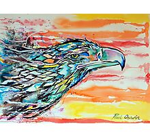 Rainbow Eagle Photographic Print