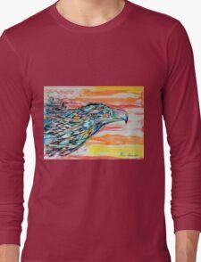 Rainbow Eagle Long Sleeve T-Shirt