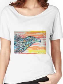 Rainbow Eagle Women's Relaxed Fit T-Shirt