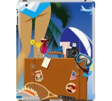 Travelling bag iPad Case/Skin