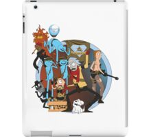 Rick And Morty Metal Gear Solid iPad Case/Skin