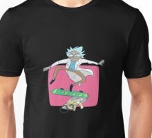 Rick And Morty Skateboard Unisex T-Shirt