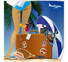 Travelling bag Poster