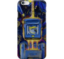 Pocket Power - BLUE VERSION iPhone Case/Skin
