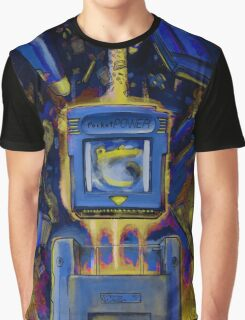 Pocket Power - BLUE VERSION Graphic T-Shirt