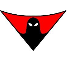 Space Ghost Style Symbol Photographic Print