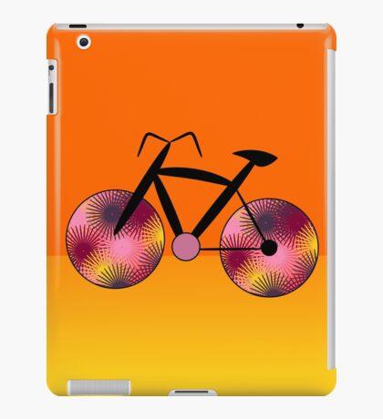 Fantasy bike in orange iPad Case/Skin