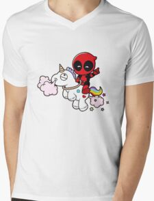 Deadpool Mens V-Neck T-Shirt