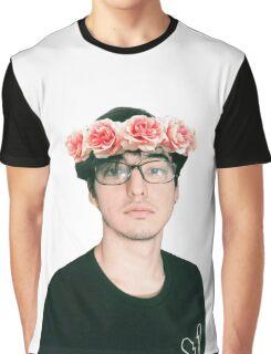 Joji Millier [Filthy Frank] Flower Crown Graphic T-Shirt