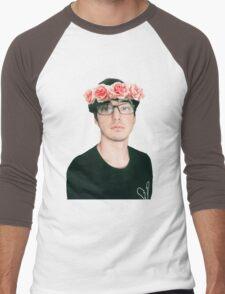 Joji Millier [Filthy Frank] Flower Crown Men's Baseball ¾ T-Shirt