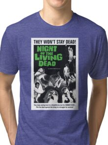 Night of the Living Dead Tri-blend T-Shirt