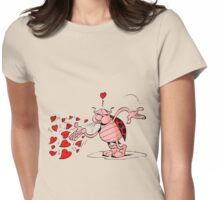 lady bug Womens Fitted T-Shirt