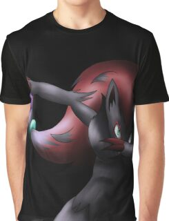 Zoroark - Shadow Ball Graphic T-Shirt