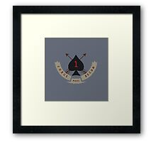 Mars 2030 - Force Recon Framed Print