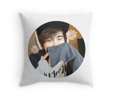 LeafyisHere Cute Throw Pillow