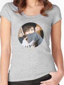 LeafyisHere Cute Women's Fitted Scoop T-Shirt