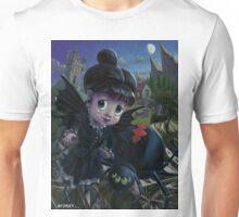 Goth girl fairy with spider widow Unisex T-Shirt