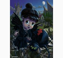 Goth girl fairy with spider widow Unisex T-Shirt