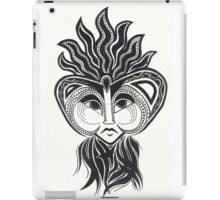 Chequered Past (positive) iPad Case/Skin