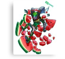 Watermelon SMASH Canvas Print