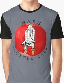 Mars 2030 - Shuttle Crew Graphic T-Shirt