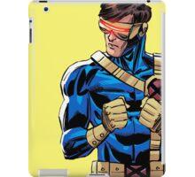 X Men Cyclops Yellow iPad Case/Skin