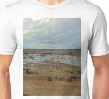 Dry lake bed Unisex T-Shirt
