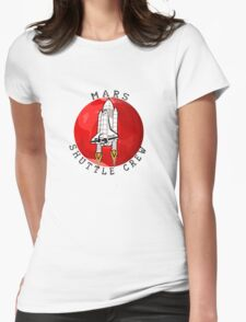 Mars 2030 - Shuttle Crew Womens Fitted T-Shirt
