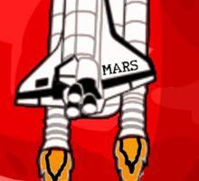 Mars 2030 - Shuttle Crew Sticker