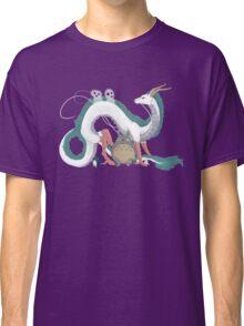 Haku, Totoro, and Tree Spirits  Classic T-Shirt