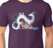 Haku, Totoro, and Tree Spirits  Unisex T-Shirt