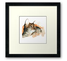 CAT#10 Framed Print